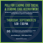 Leading Edge Recruitment & Pull For Leading Edge Social