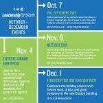 Oct – Dec Events